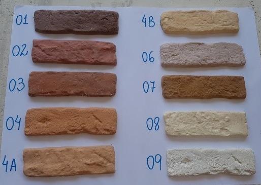 04438d393 Tijolinho De Demolição Brick - Revestimento Cimentício - R  95