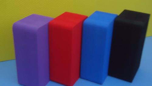 tijolo bloco de yóga em eva pilates