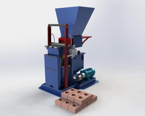 tijolo ecológico / projeto prensa hidráulica ( envio email )