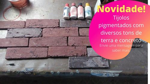 tijolos de gesso para decoração de parede