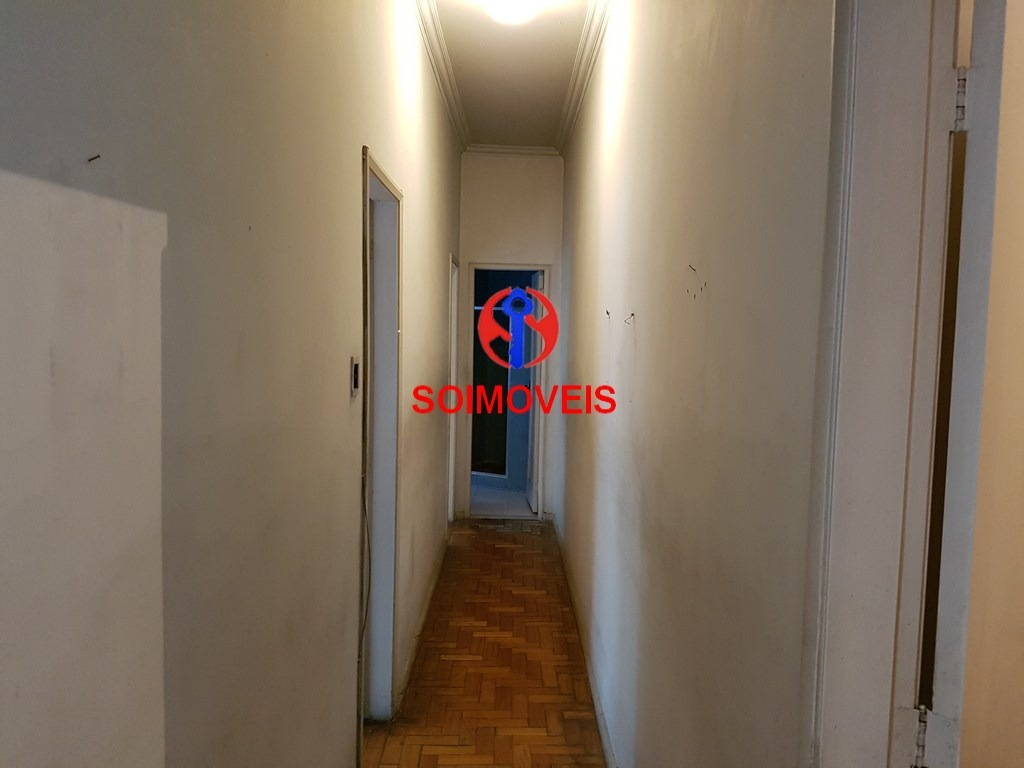 tijuca, sala, 2 quartos ref: ra_ap20277