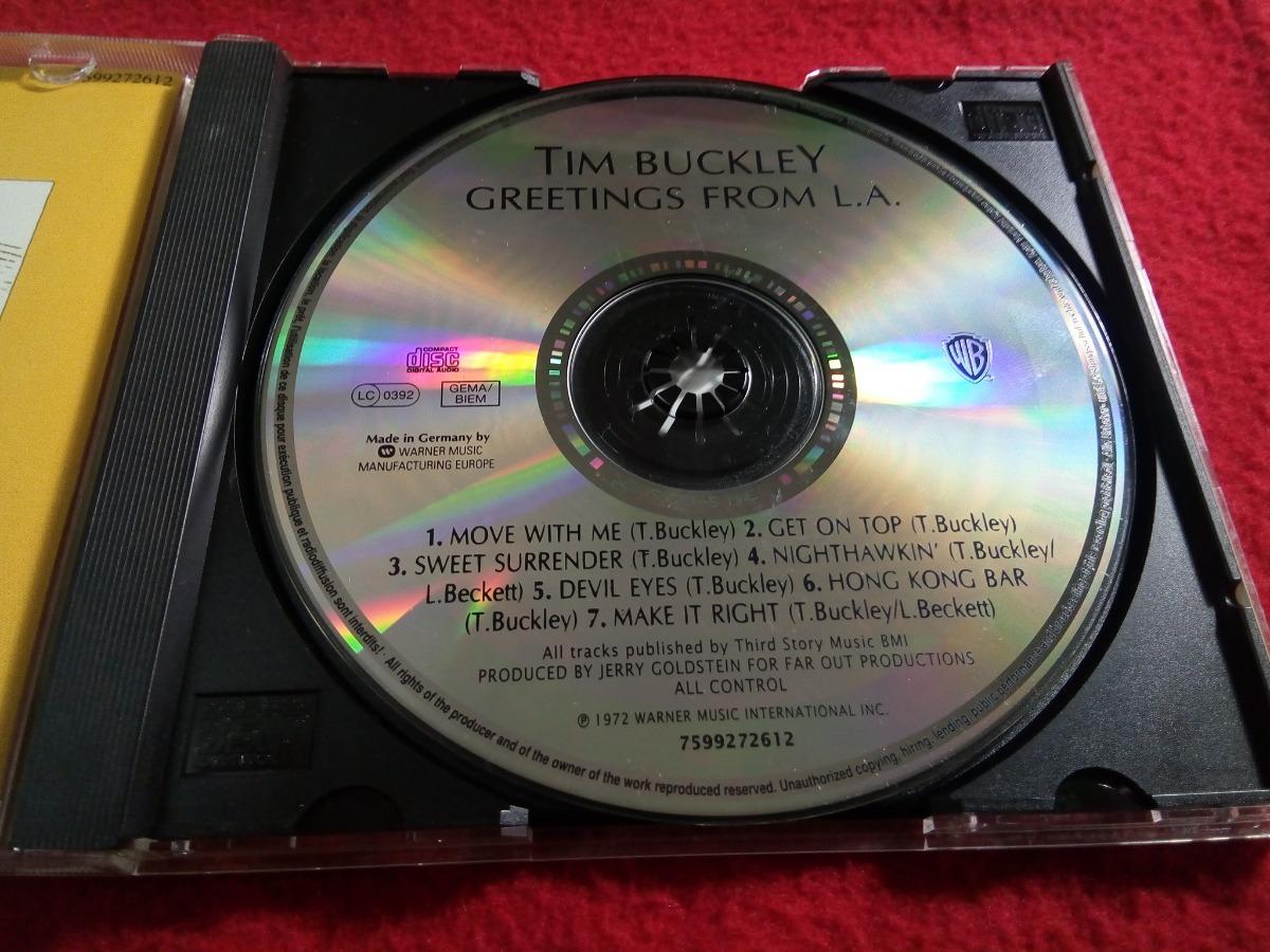 Tim Buckley Greetings From La Made In Germany 25000 En