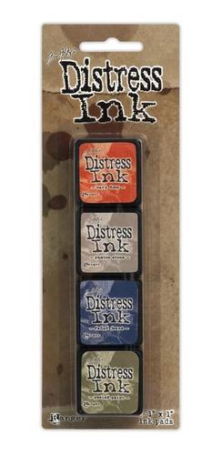 tim holtz distress ink pad mini kit 5