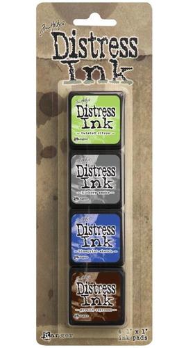 tim holtz distress mini ink pads kit #14 - 4/pkg