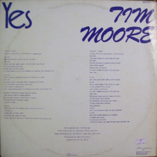 tim moore   12 single promo  yes