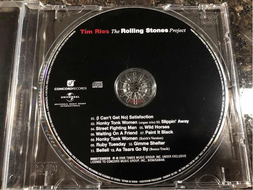 tim ries - the rolling stones project cd