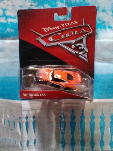 tim treadless nitroade 28 cars 3 disney pixar trabucle