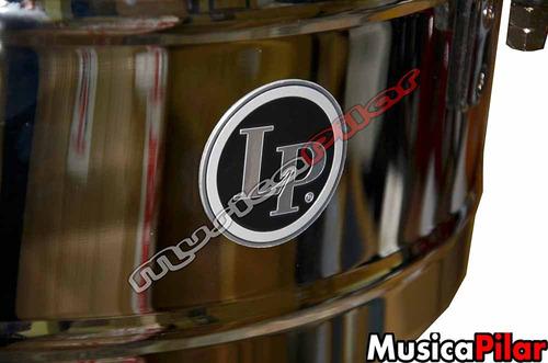 timbal lp matador cromado 14 y 15 m257 musicapilar