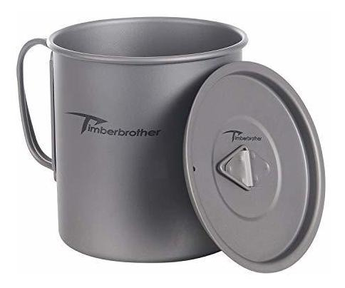 Timberbrother Titanio Taza Mug Acampada