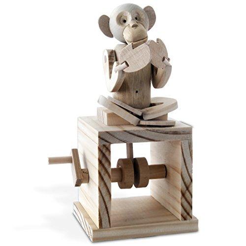 Mechanical Timberkits Cheeky De Monkey Kit Construcción ymwvn8OPN0