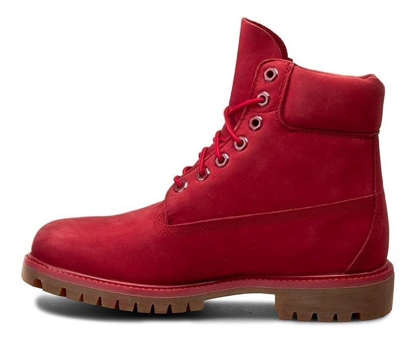 Timberland 6in Premium Boot Red Waterproof Hombre 27 Mx