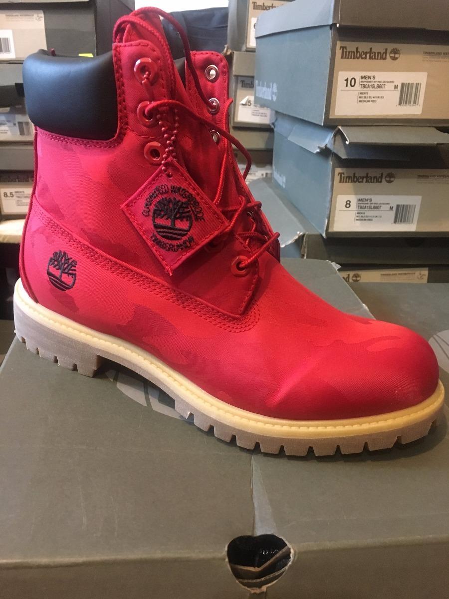 52a49bb4 timberland botas caballero premium 6 in rojas waterproof. Cargando zoom.
