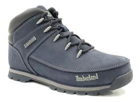 Timberland Euro Sprint Mid Hiker Mujer Azul Tb0a126m484