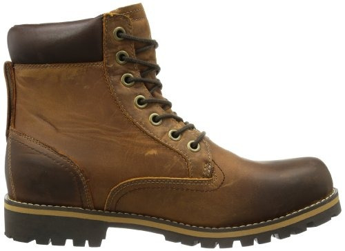 timberland men earthkeepers? rugoso 6  bota rojo marrón