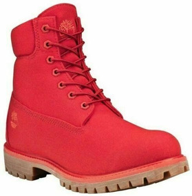 Timberland Men´s bota Timberland 6in Red Canvas 27