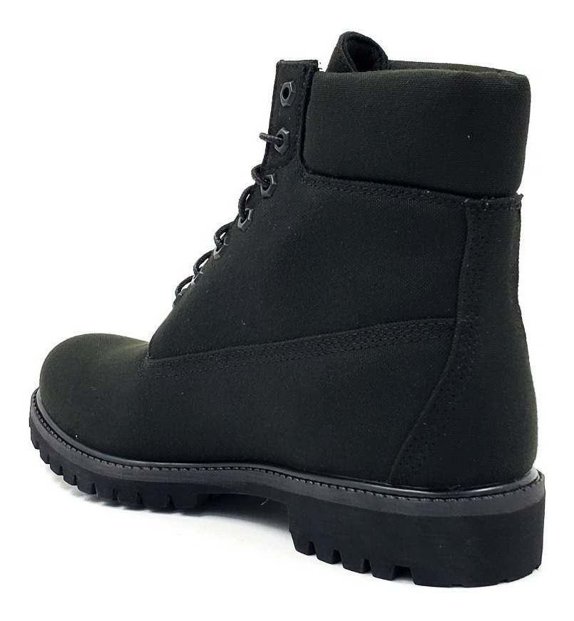 fashionable and attractive package large discount shop for luxury Timberland Premium 6 In Boot Black Canvas Tb0a10yn015 A Msi