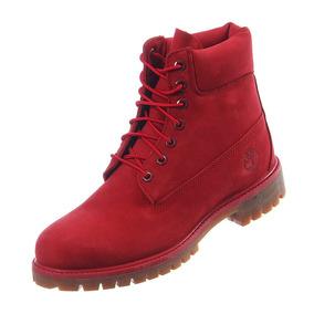 Timberland Waterproof Hombre Ropa, Bolsas y Calzado Rojo