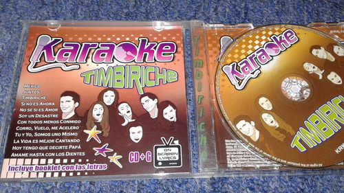timbiriche cd karaoke