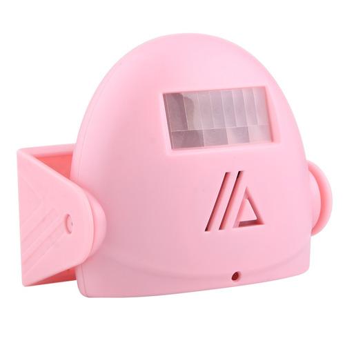 timbr inalambrico 5301 wireless infrared motion rosado
