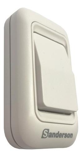 timbre alarma a pilas 200mts resiste al agua sanderson