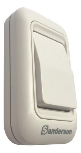 timbre alarma a pilas 200mts resiste al agua sanderson full