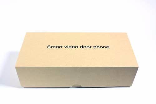 timbre camara ip alarma wifi hd seguridad sensor movimiento