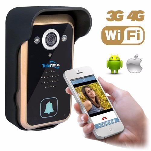 Timbre camara wifi app video portero inal mbrico - Video portero inalambrico ...