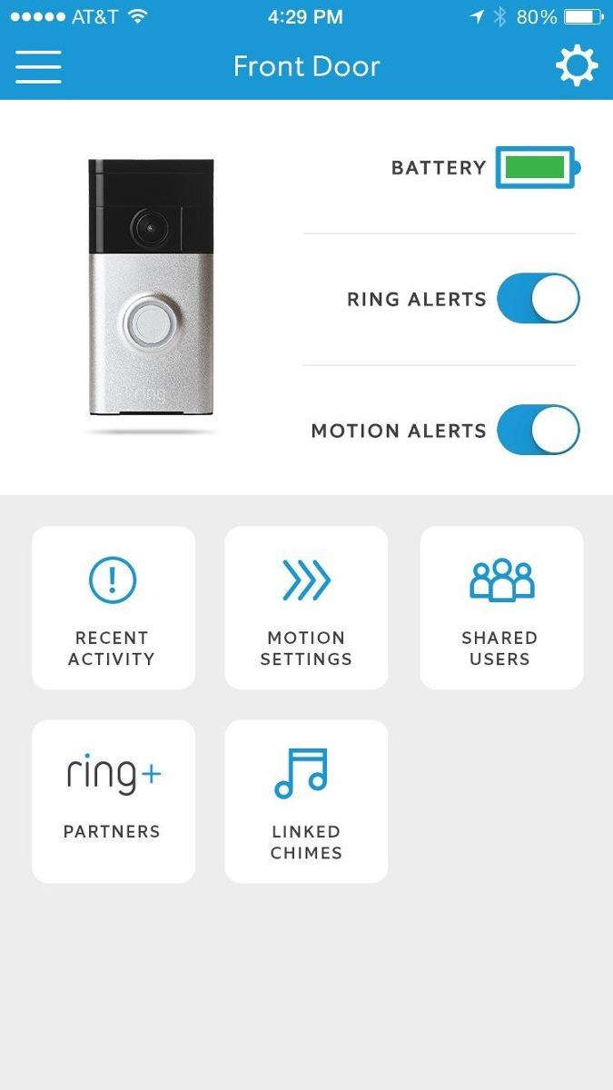 Timbre de casa con videoring con wifi doorbell polished bras 5 en mercado libre - Timbre de casa ...