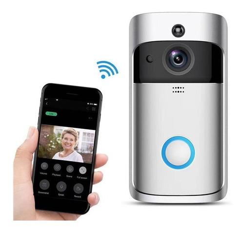 timbre interfon wifi hd celular vision nocturna dia y noche