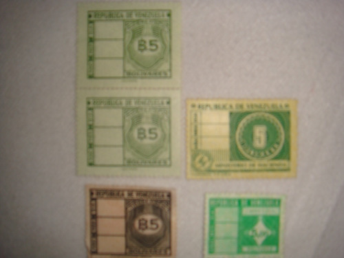 timbres o estampillas de venezuela para coleccion