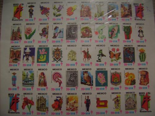 timbres postales contra la tuberculosis 1979 40 aniversario