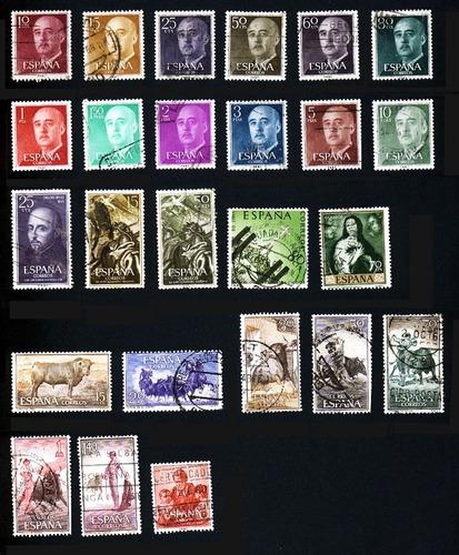 timbres postales de españa (parte 4) de 1954 a 1960