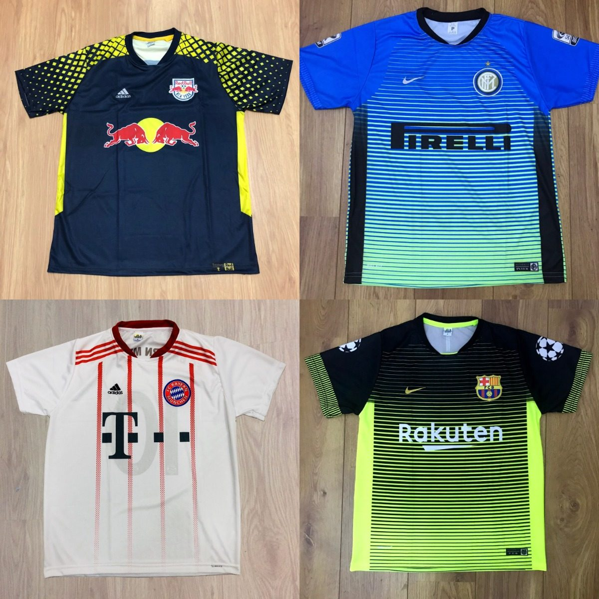Kit Com 10 Camisetas De Time Camisas De Futebol Atacado - R  185 1e5c243447330