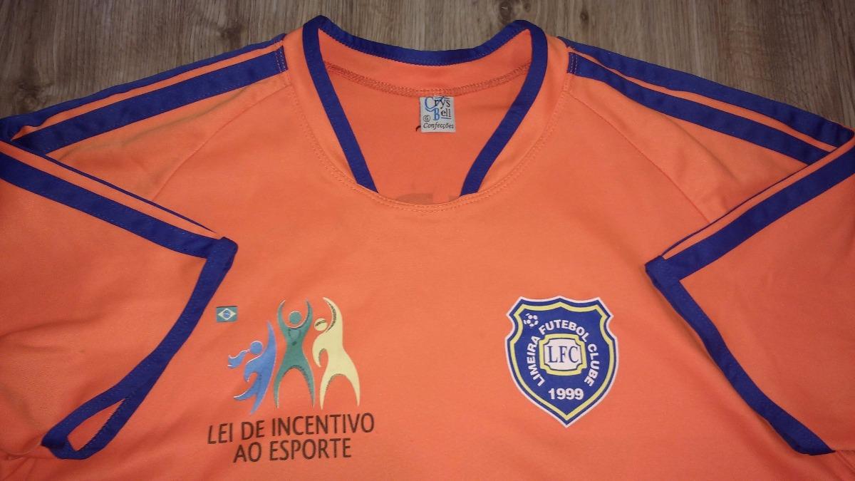 Camisa Do Time Do Limeira Futebol Clube Limeira F.c - R  79 3a8ca26d91f06