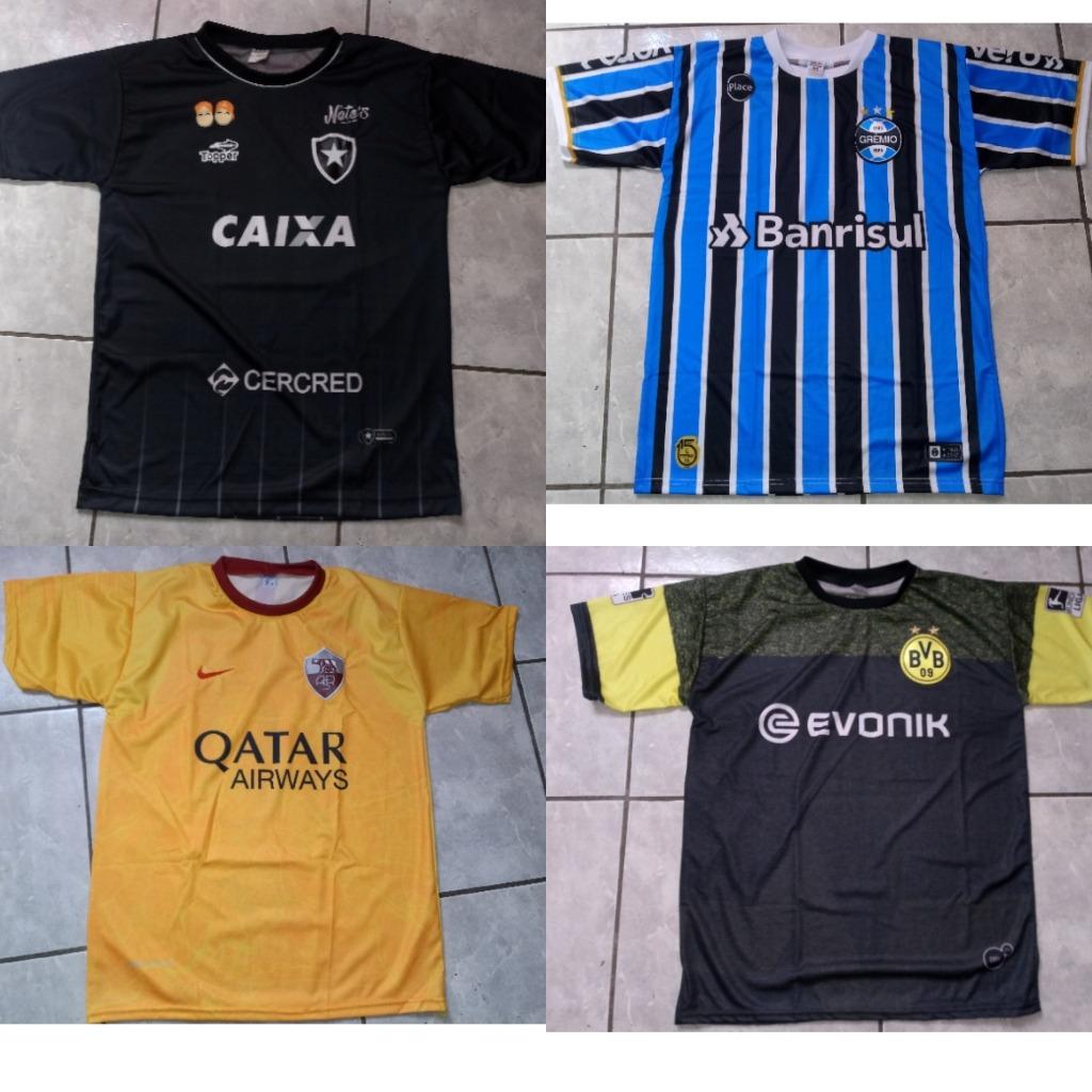 10 Camisas Time Futebol Revenda - R  180 358ea70b4072a