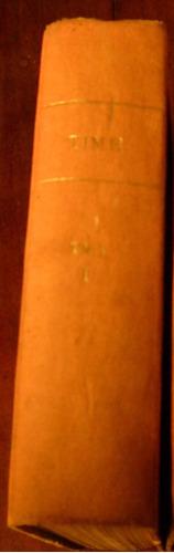 time. latin america edition (en inglés) año 1965. tomo i