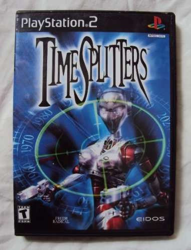time splitters  ps2 * para 4 jugadores
