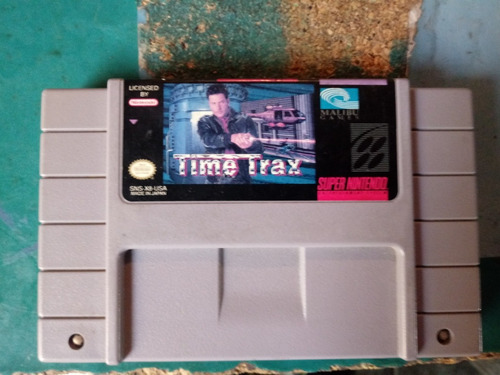 time trax snes