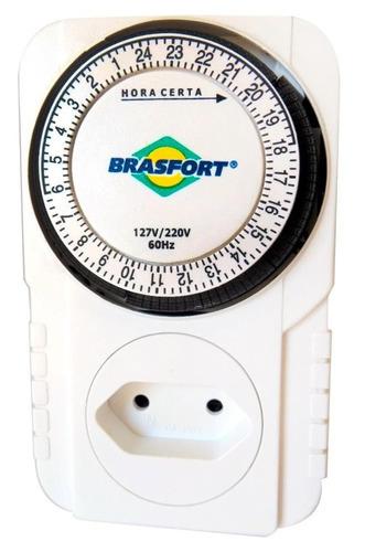 timer analogico com válvula solenoide 220v