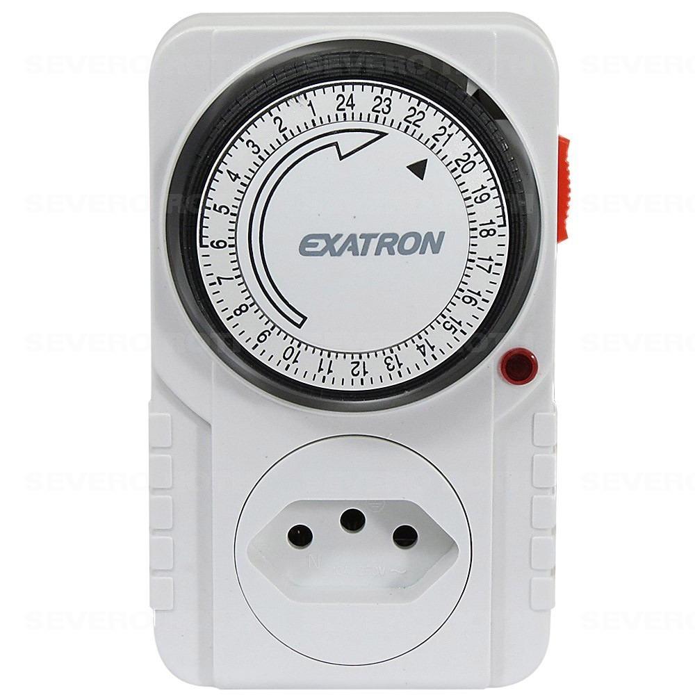 425a7c9a6f3 timer analógico temporizador 96 progamções exatron. Carregando zoom.
