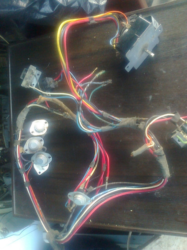 timer + cableado secadora whirlpool, kenmore