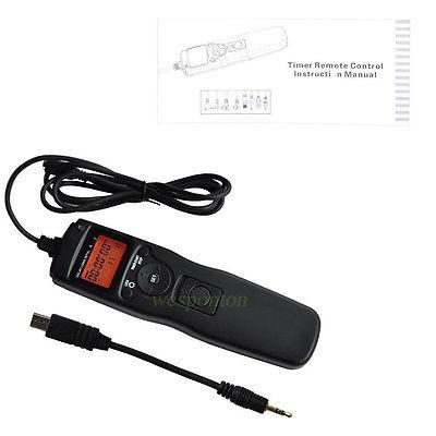 timer control remoto disparador para sony  nex-3nl a58 a7