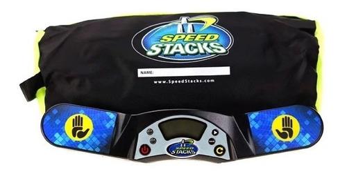 timer cronômetro stackmat pro g4 + bolsa para cubo mágico