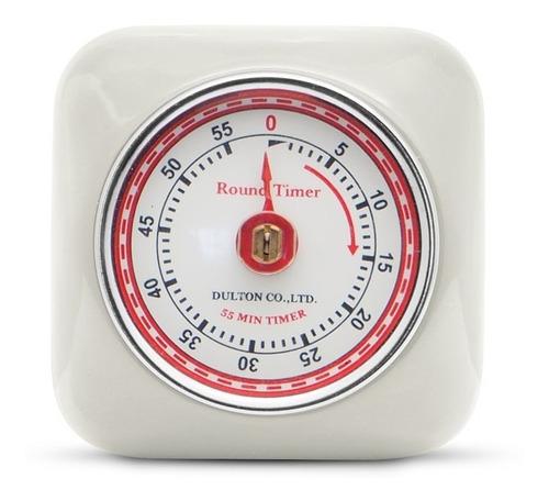 timer de cocina vintage iman manual temporizador square gato