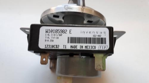 timer de secadora whirlpool w10185982 e original