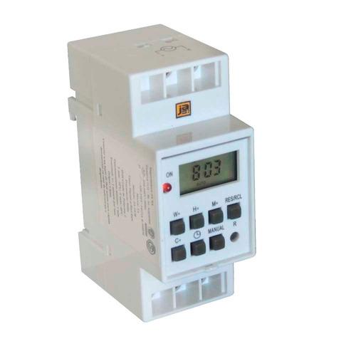 timer digital riel din reloj temporizador programable tiempo