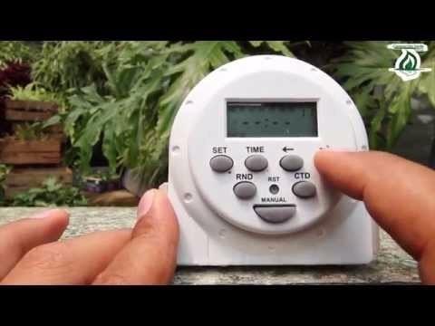 timer digital temporizador automatico foco watt sensor