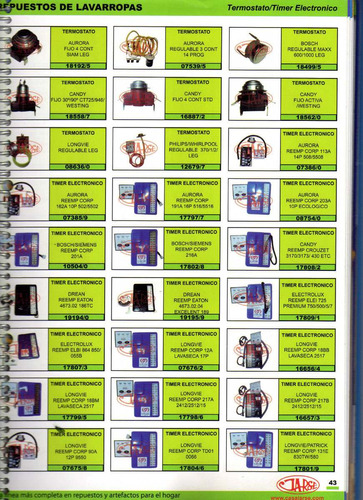 timer electronico bosch7siemens reemp corp 201a art.10504/0