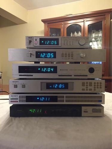 timer reloj pioneer akai sony technics sansui kenwood