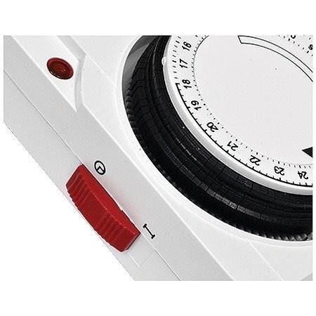 85bd8c00a58 Timer Temporizador Analógico Bivolt Programável Relógio - R  68